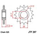 Звезда передняя JT JTF297.16