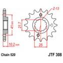 Звезда передняя JT JTF308.14
