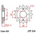 Звезда передняя JT JTF314.15