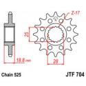 Звезда передняя JT JTF704.17