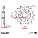 Звезда передняя JT JTF741.14