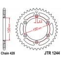 Звезда задняя JT JTR1244.54