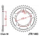 Звезда задняя JT JTR1493.41