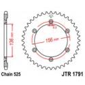 Звезда задняя JT JTR1791.42