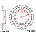 Звезда задняя JT JTR1792.43