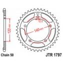 Звезда задняя JT JTR1797.41