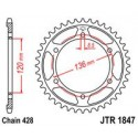 Звезда задняя JT JTR1847.48
