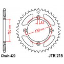 Звезда задняя JT JTR215.49