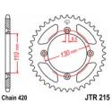 Звезда задняя JT JTR215.55