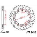 Звезда задняя JT JTR245/2.50