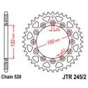 Звезда задняя JT JTR245/2.52