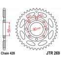 Звезда задняя JT JTR269.38