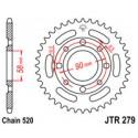 Звезда задняя JT JTR279.39