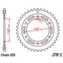 Звезда задняя JT JTR3.41
