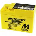 Аккумулятор гелевый Motobatt MB MT4R
