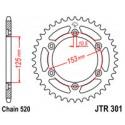 Звезда задняя JT JTR301.48