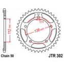 Звезда задняя JT JTR302.43