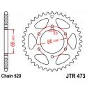 Звезда задняя JT JTR473.37