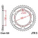 Звезда задняя JT JTR5.47