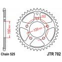 Звезда задняя JT JTR702.42