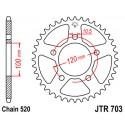 Звезда задняя JT JTR703.44