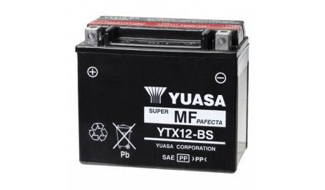 Аккумулятор гелевый YUASA YTX12-BS