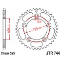 Звезда задняя JT JTR744.39