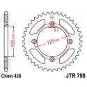 Звезда задняя JT JTR798.52