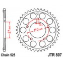 Звезда задняя JT JTR807.46