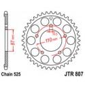 Звезда задняя JT JTR807.49