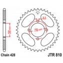 Звезда задняя JT JTR810.50
