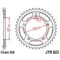 Звезда задняя JT JTR823.46