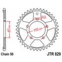 Звезда задняя JT JTR829.47