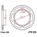 Звезда задняя JT JTR839.53