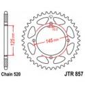 Звезда задняя JT JTR857.47