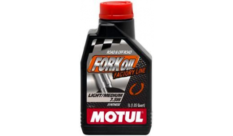 Масло для мото-вилок Motul 7,5W FORK OIL LIGHT / MEDIUM FACTORY LINE SAE (1L)