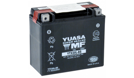 Аккумулятор гелевый YUASA YTX20L-BS