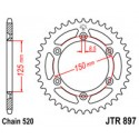 Звезда задняя JT JTR897.45