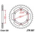 Звезда задняя JT JTR897.48