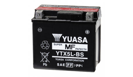Аккумулятор гелевый YUASA YTX5L-BS