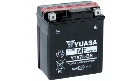 Мото аккумулятор YUASA YTX7L-BS