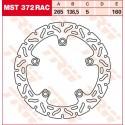 Тормозные диски LUCAS MST372RAC