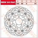 Тормозные диски LUCAS MSW241RAC