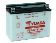 Аккумулятор сухозаряженный YUASA Y50-N18L-A