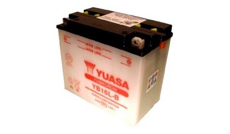 мото аккумулятор YUASA YB16L-B