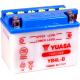 мото аккумулятор YUASA YB4L-B