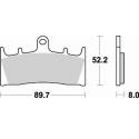 Мото колодки BRAKING BR 764CM55