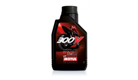 Масло Motul 300V 4T FACTORY LINE ROAD RACING SAE 5W30 1л