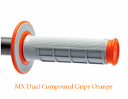 Мото грипсы Renthal MX Dual Compound Grips - Orange