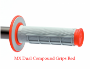 Мото грипсы Renthal MX Dual Compound Grips - Red